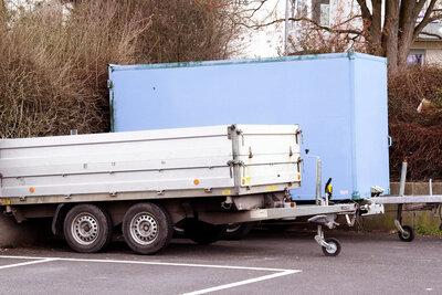 trailer storage