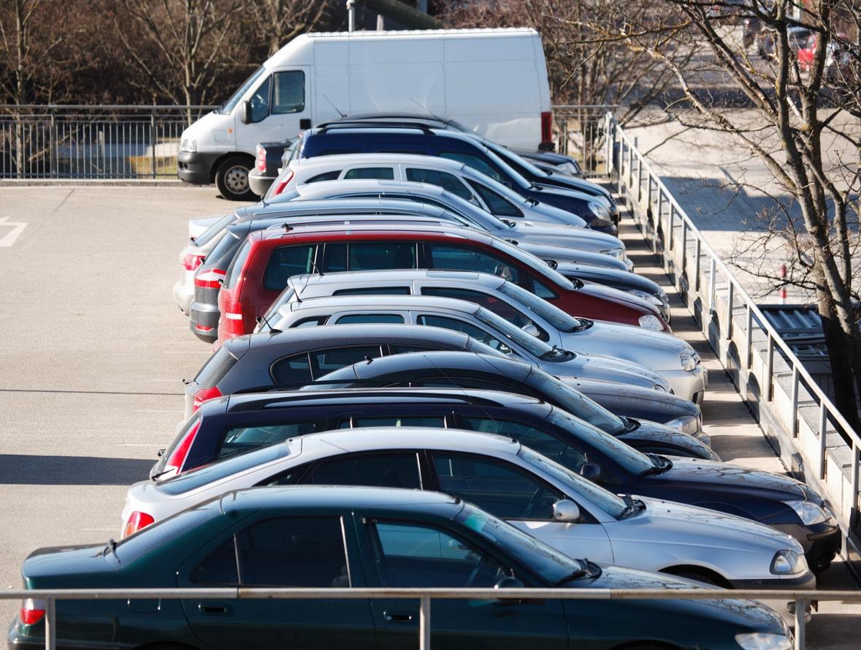 Outdoor car storage